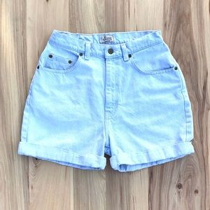 Vintage Bass High Waisted Shorts